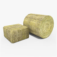 Hay Bale low poly