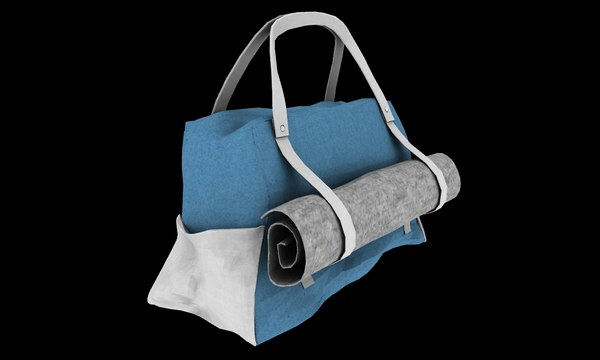 3D gym bag