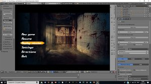 menu animation sounds 3D model