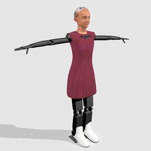 sophia humanoid robot model