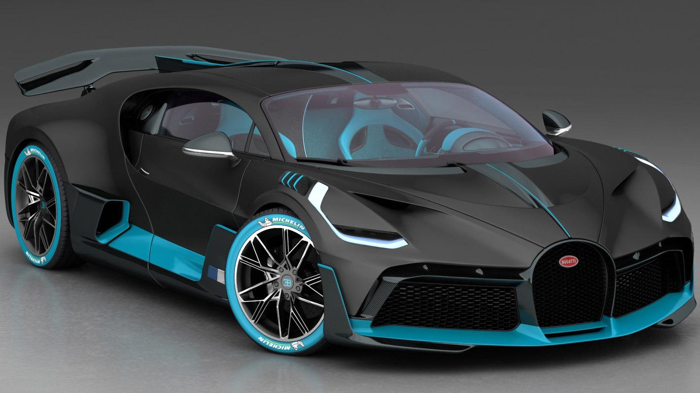 3d Bugatti Divo 2019 Turbosquid 1327828