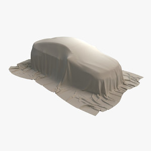car cover fabric 3D