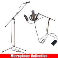 microphone stand condenser 3D model