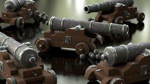3D gun weapon model