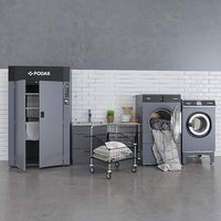 podab swedish laundry 3D model