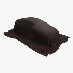 car cover suv leather 3D model