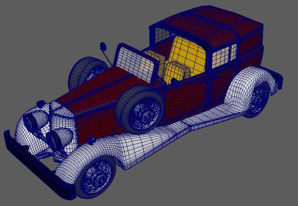 3D model cadillac v16