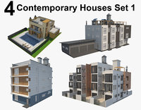 house contemporary 3D