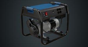 3D model portable generator 1a