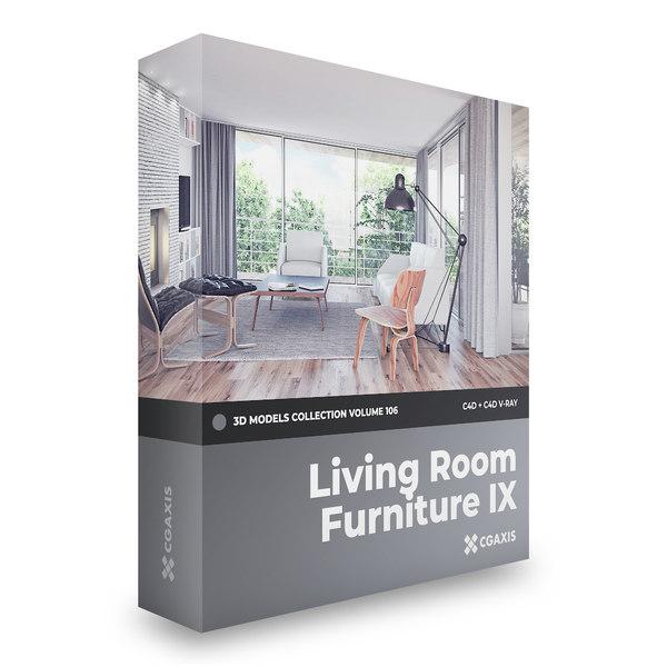 3D model furniture volume 106