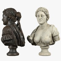 bust aphrodite model