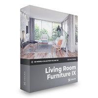 furniture volume 106 corona 3D model