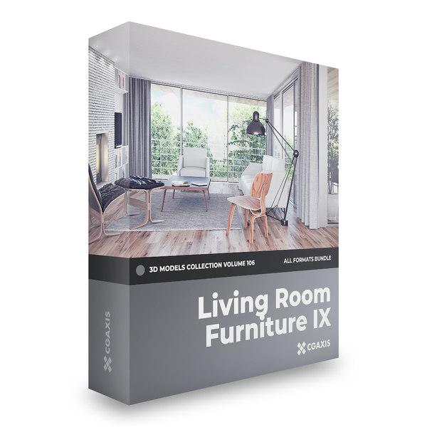 furniture volume 106 3D