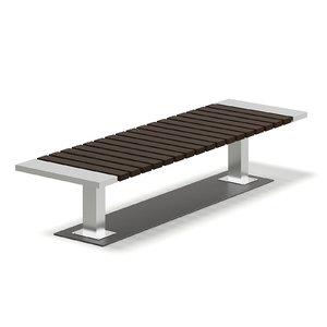 3D mall bench