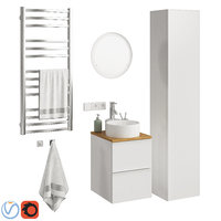 3D set ikea godmorgon model