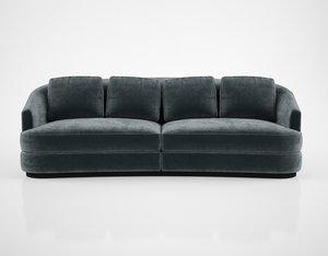 3D sofa chair company hudson