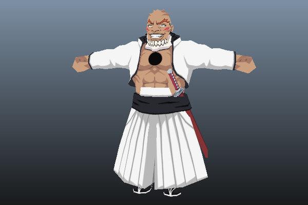 yammy llargo bleach anime 3D model
