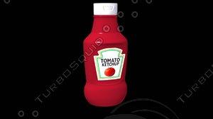 ketchup 3D