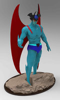 3D devilman tv anime model