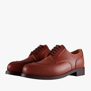 derby shoes 3D model