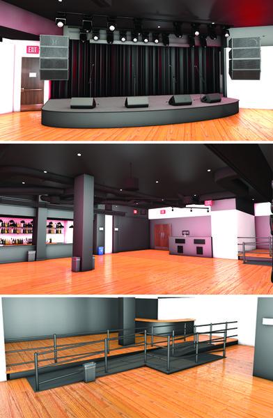 3D model bar club