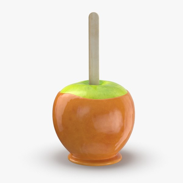 caramel-apples---green 3D model