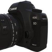 realistic canon 5d mark 3D