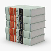 law-books---set-1 3D