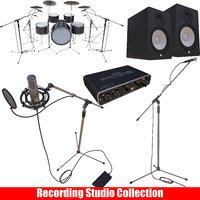 recording studio 3D