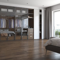 realistic bedroom interior apartments 3D