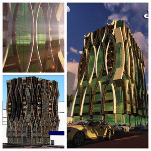 omr building 3D