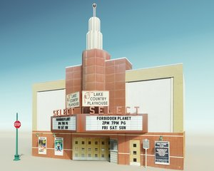 historic theater model