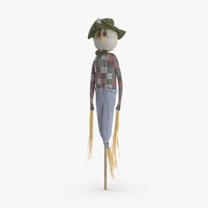 scarecrow-02 3D model