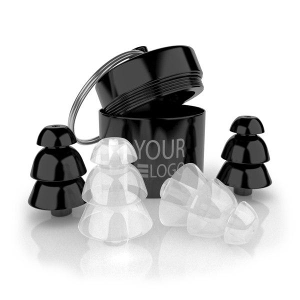 3D ear plug model