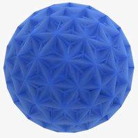3D sphere printing model