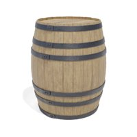 wooden barrel model