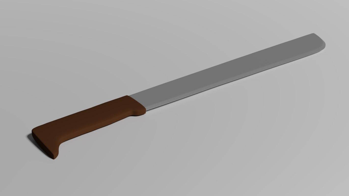 machete 3D
