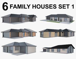 house family 3D