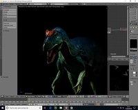 3D dino dinosaur model