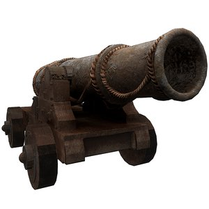 old cannon model