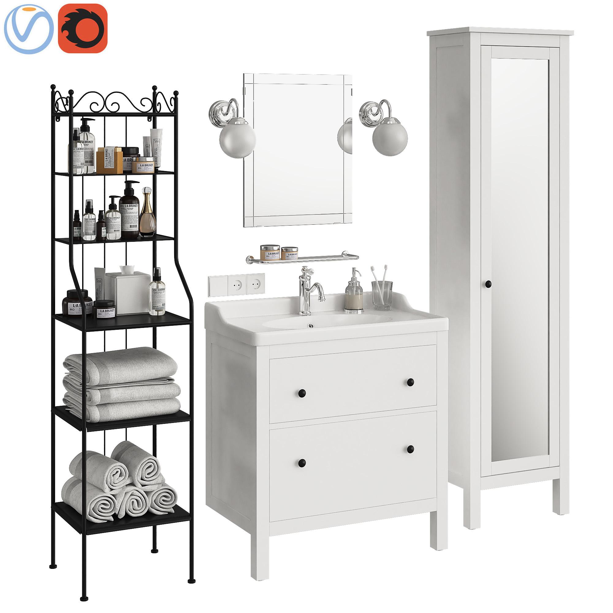 łazienka Ikei Hemnes