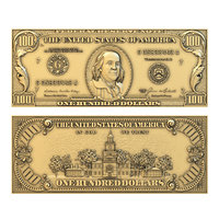 100 dollars, Bas Relief 3d Model for CNC Router