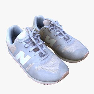 nike kids sports shoes 3D model