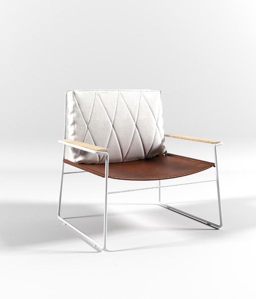 3D mono armchair