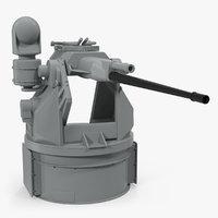 m242 bushmaster autocannon 3D model