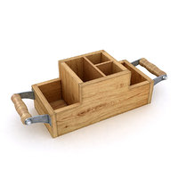 cafe condiment caddy 3D model