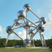 3D model atomium