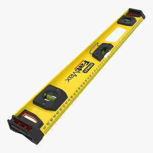 3D model spirit level stanley fatmax