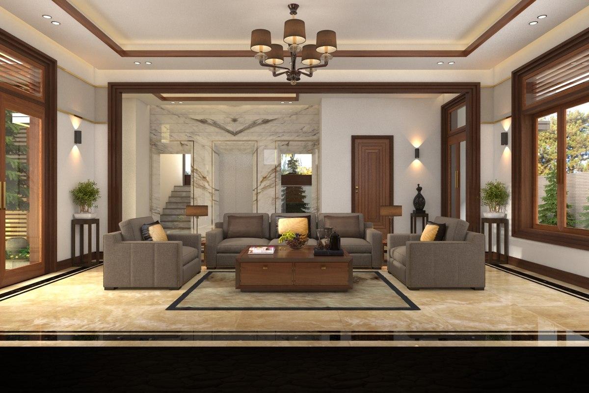 apartment-livingroom celling-light model