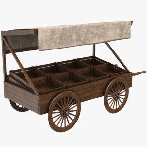 3D real cart model